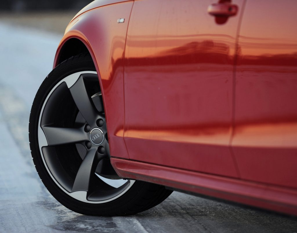 """Audi's 19-inch """"Rotor"""" wheels are a nice upgrade for the B9 A4"""