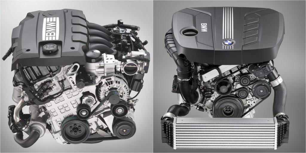 Four Cylinder BMW Gasoline Engine And Diesel Engine