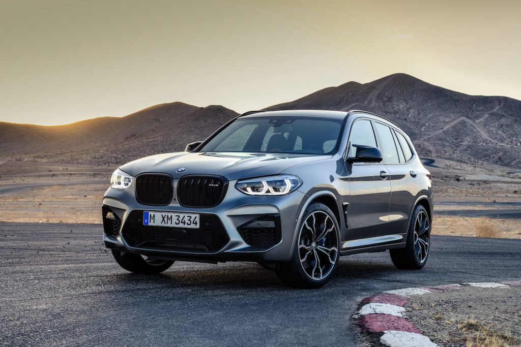 A BMW X3 parked in the wilderness, the BMW X3 is the best compact luxury SUV