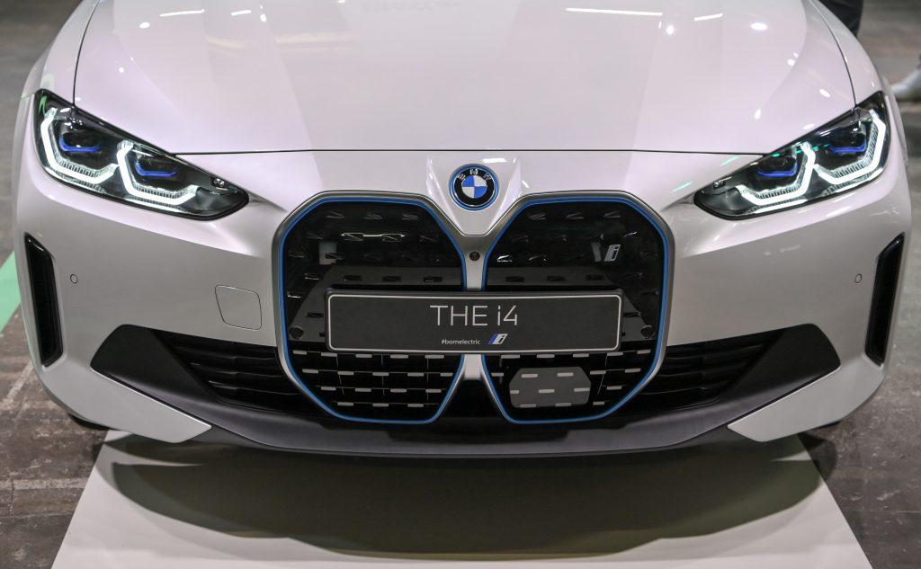 BMW's electric i4 sedan