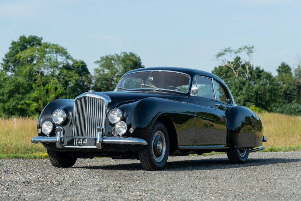 James Bond's calssiest car, the Bentley Type-R Continental