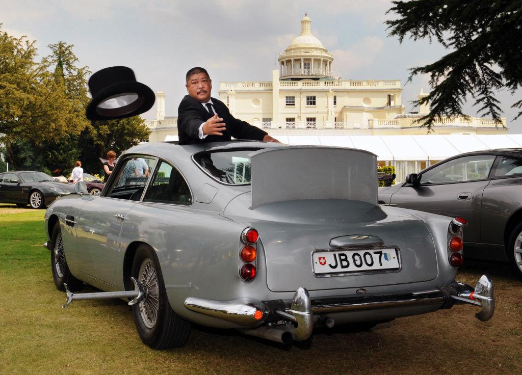James Bond Aston Martin from Goldfinger