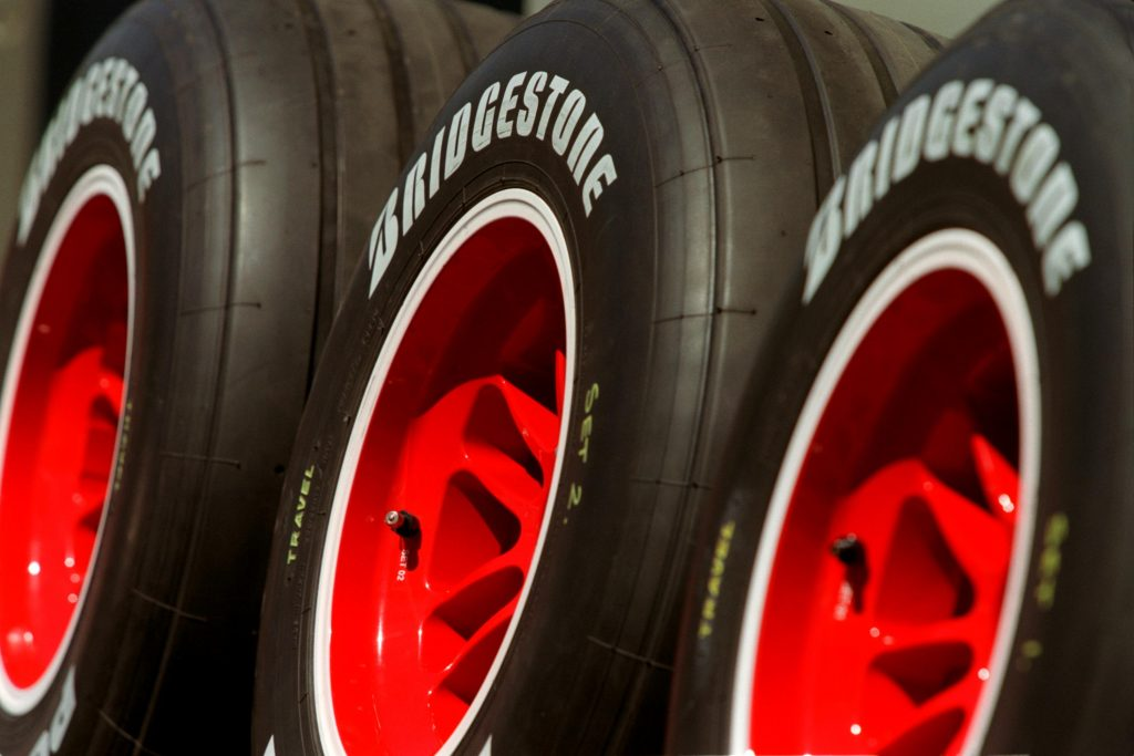 Bridgestone Formula One Racing Tires