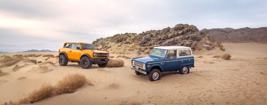 Ford Bronco vs Ford Bronco Sport