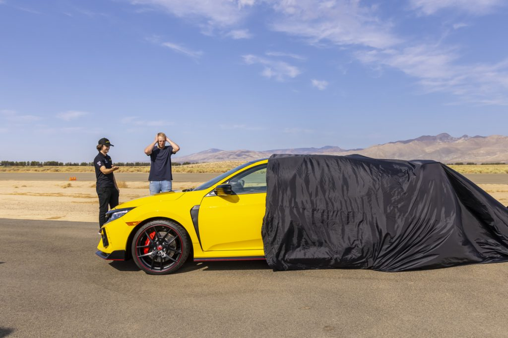 Honda uncovered the Civic Type R LE for Zander