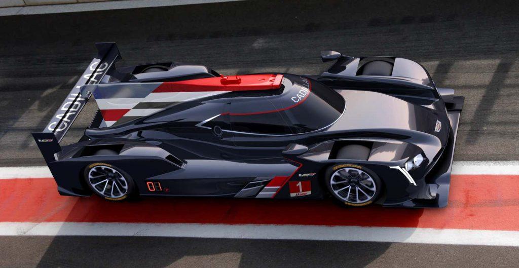 Cadillac's LMDh prototype concept for 2023