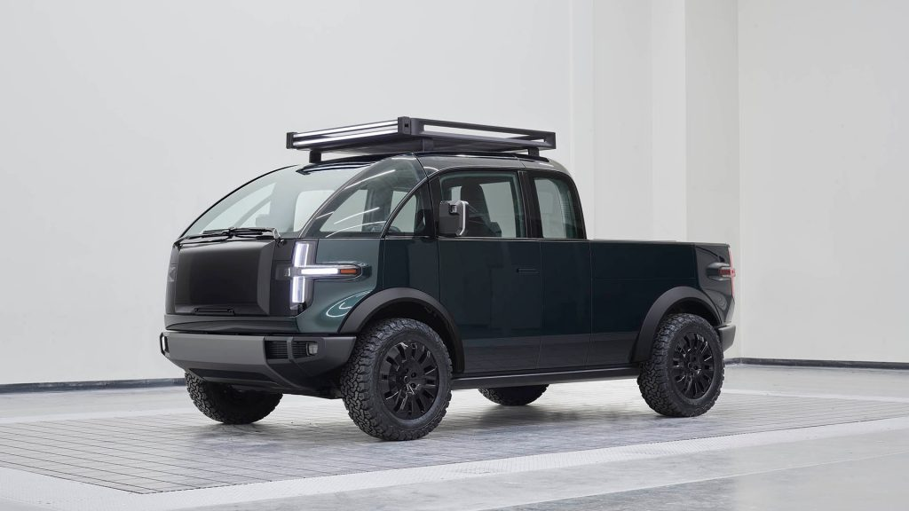 Canoo Electric Truck, potential rival of the Ford F-50 lightning