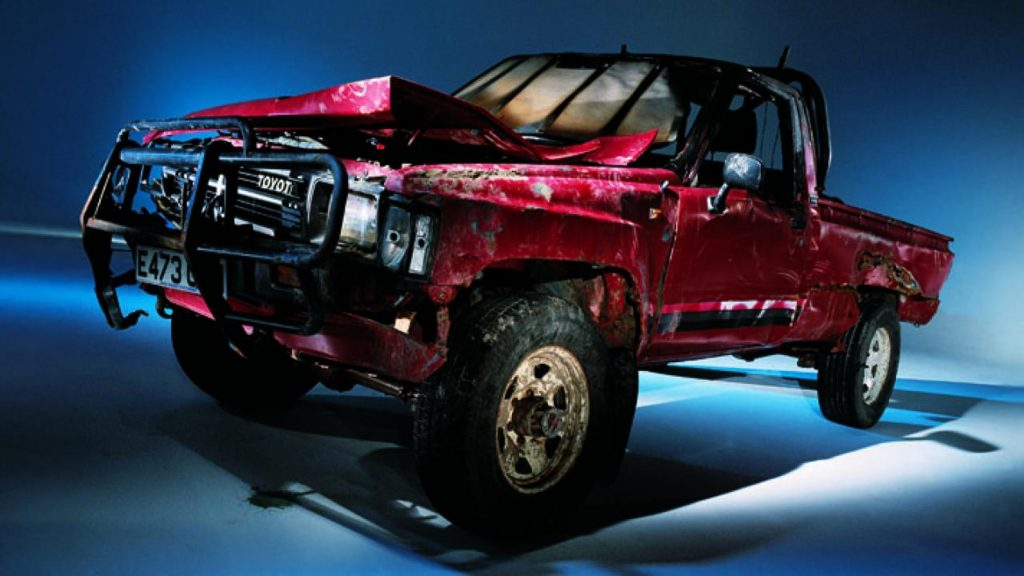"""The """"unkillable"""" Top Gear Toyota Hilux"""