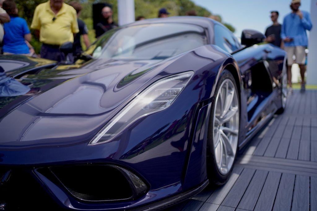 Hennessey Venom F5 on display at the 2021 Amelia Island Concour d'Elegance | Gabrielle R Schmauderer, MotorBiscuit