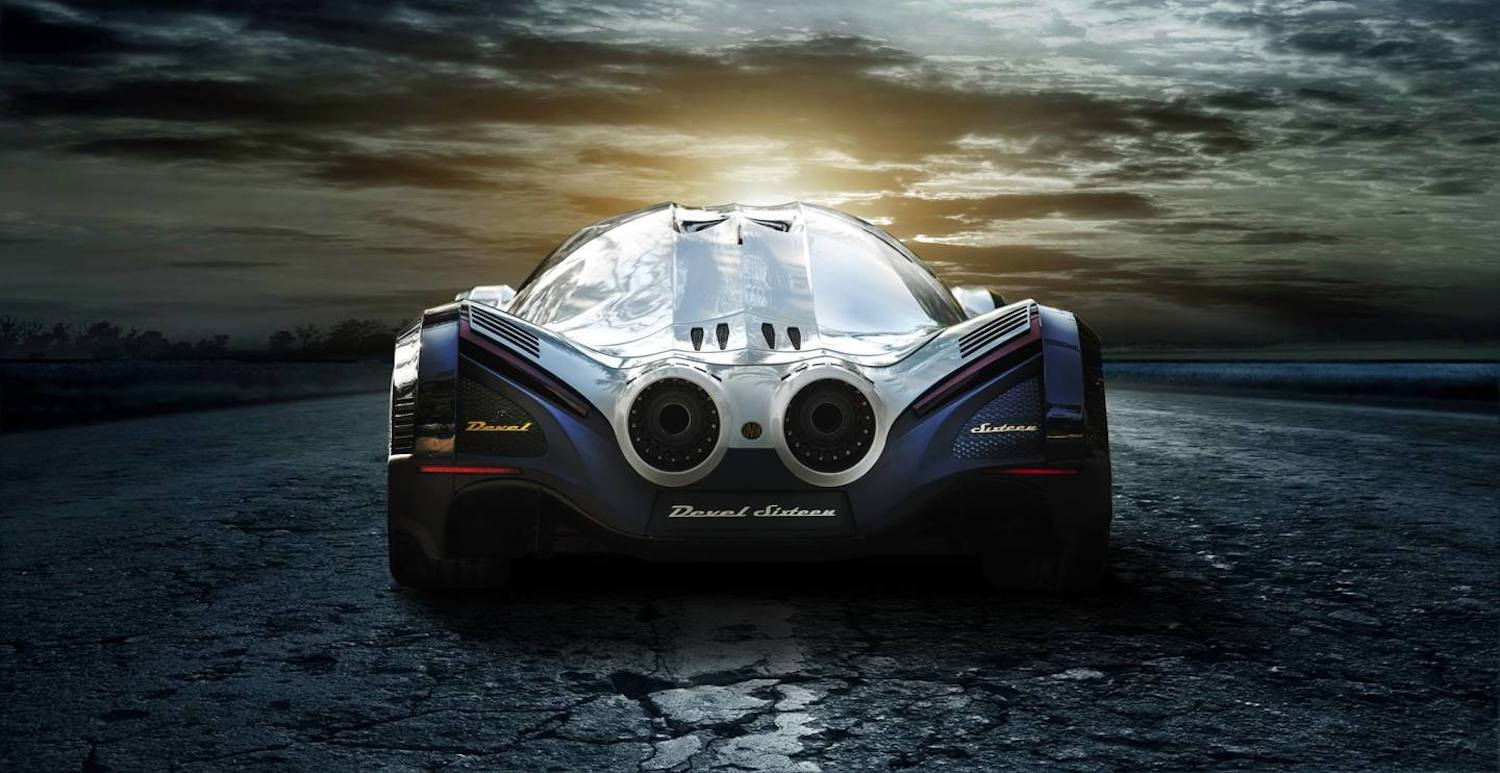 The Devel Sixteen is beyond anything we have ever seen. Sure, the Aston Martin V12 Speedster is wild, and the Bugatti Chiron Pur Sport is banana, but