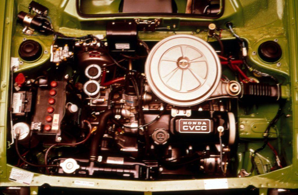 First Generation Honda Civic CVCC Engine