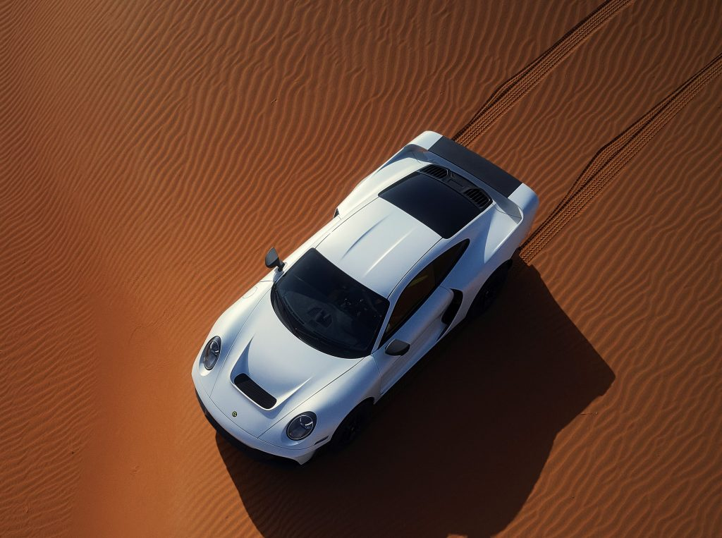 The Marsien off-road supercar from Marc Philipp Gemballa