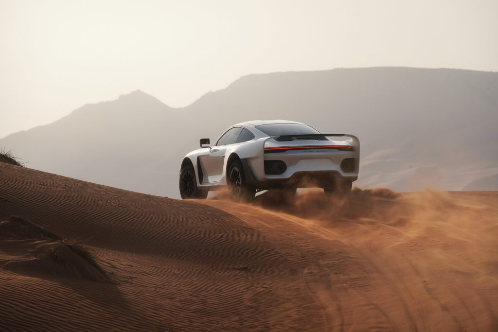 The Marsien off-road supercar by Marc Philipp Gemballa
