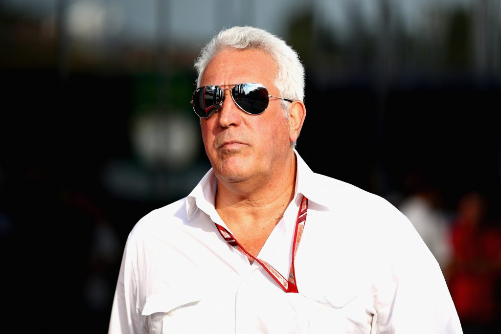 """Stroll does his best """"serious businessman"""" face at the Hungarian GP, complete with serious businessman aviators"""