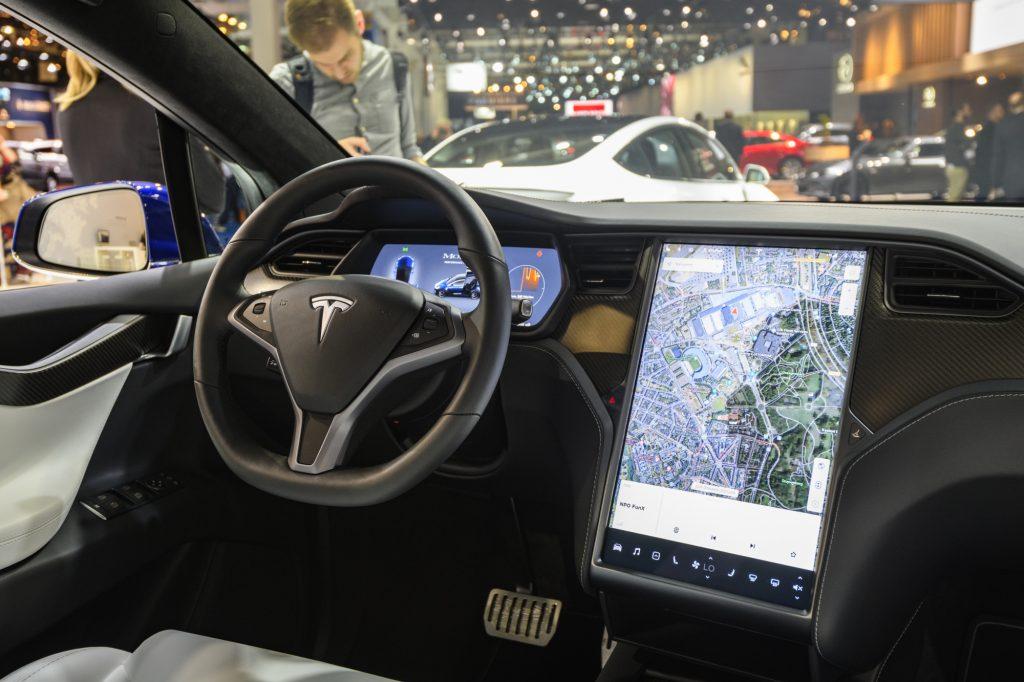 Tesla Autopilot in the Tesla Model S