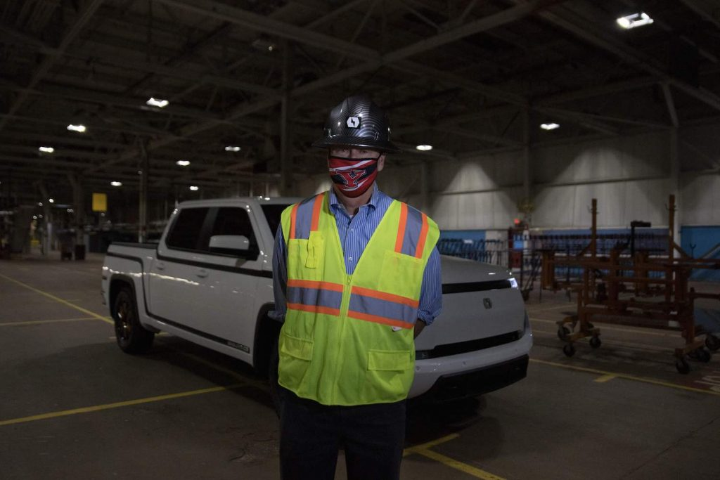 Steve Burns, CEO of Lordstown Motors, unveils their new electric pickup truck Endurance in Lordstown, Ohio, on October 15, 2020. The old GM factory has been acquired by Lordstown Motors, an electric truck startup. - Workers at the General Motors factory in Lordstown, Ohio, listened when US President Donald Trump said companies would soon be booming. But two years after that 2017 speech, the plant closed. GM's shuttering of the factory was a blow to the Mahoning Valley region of the swing state crucial to the November 3 presidential election, which has dealt with a declining manufacturing industry for decades and, like all parts of the US, is now menaced by the coronavirus. (Photo by MEGAN JELINGER / AFP) (Photo by MEGAN JELINGER/AFP via Getty Images) Can Daniel Ninivaggi, Lordstown CEO Save The Company?