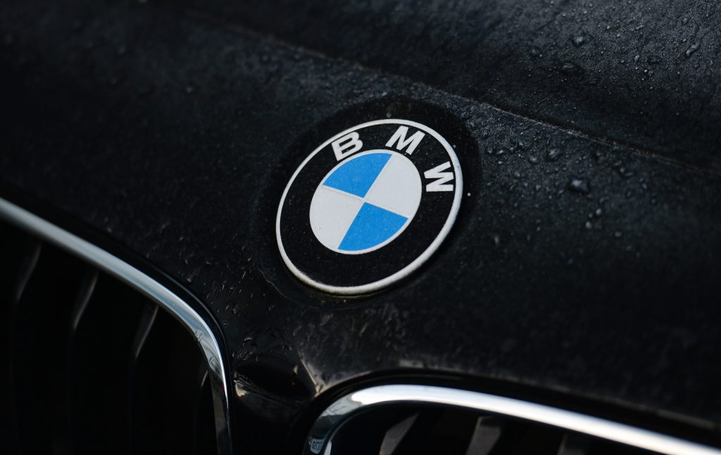 BMW badge on one of the many cars caught up in the BMW Recall