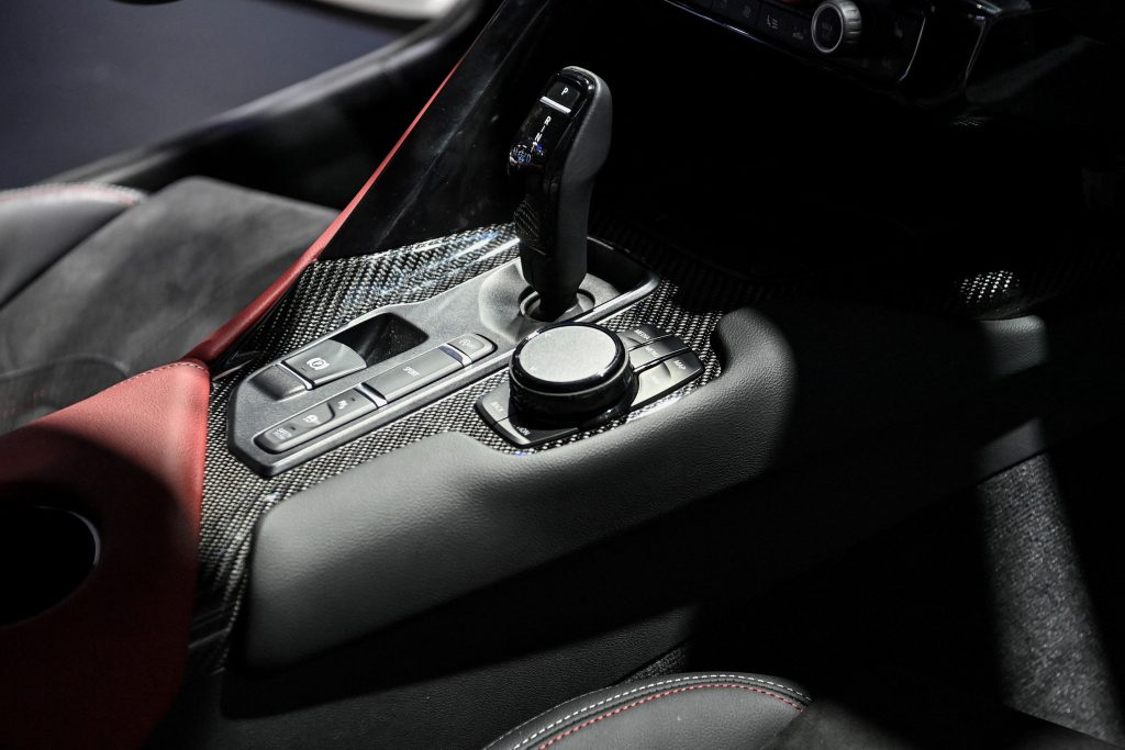The BMW derived shifter in the new Supra