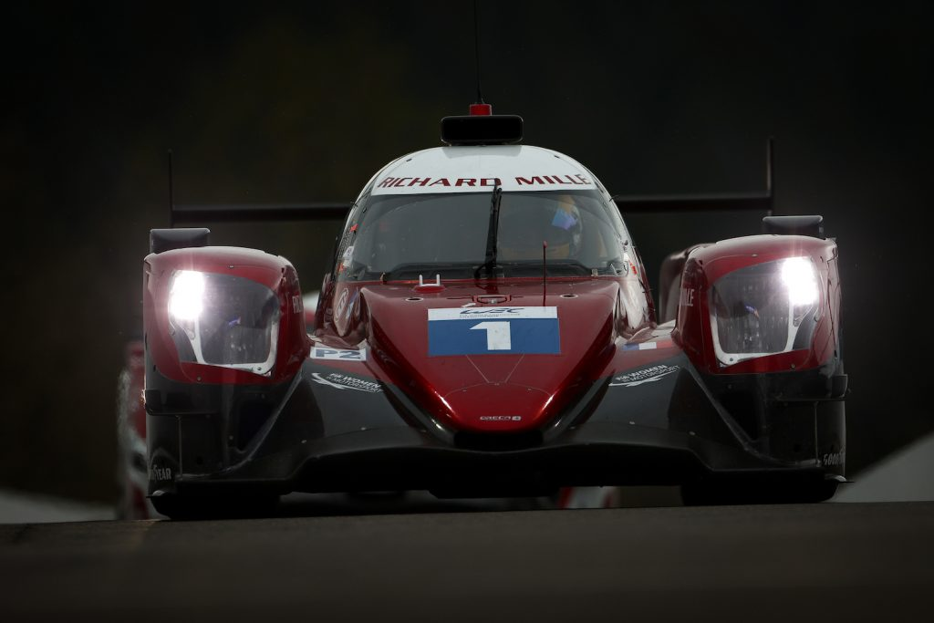 SPA, BELGIUM - 29 APRIL: The #01 Richard Mille Racing Team Oreca 07 - Gibson of Tatiana Calderon, Sophia Floersch, and Beitske Visser in action during practice for the opening round of the World Endurance Championship on April 29, 2021 at Spa-Francorchamps, Belgium. (Photo by James Moy Photography/Getty Images) Sophia Floersch crash at the 2021 24 hours of Le Mans
