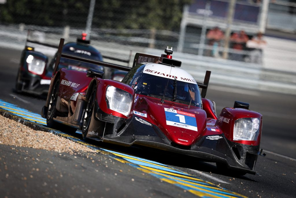 LE MANS, FRANCE - AUGUST 15: The #01 Richard Mille Racing Team Oreca 07 - Gibson of Tatiana Calderon, Sophia Floersch, and Beitske Visser in action at the Le Mans 24 Hour Test Day on August 15, 2021 in Le Mans, France. (Photo by James Moy Photography/Getty Images) Sophia Floersch crash at the 2021 24 hours of Le Mans