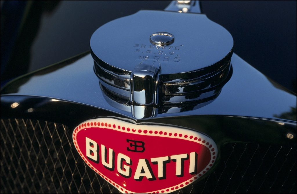 Ralph Lauren's Bugatti Atlantic #57591 FRANCE - SEPTEMBER 08:  Old cars show in Bagatelle in Paris, France on September 08, 1991 - Bugatti Atlantic 1938.  (Photo by Marc DEVILLE/Gamma-Rapho via Getty Images) A bugatti so rare, even Jay Leno can't buy one.