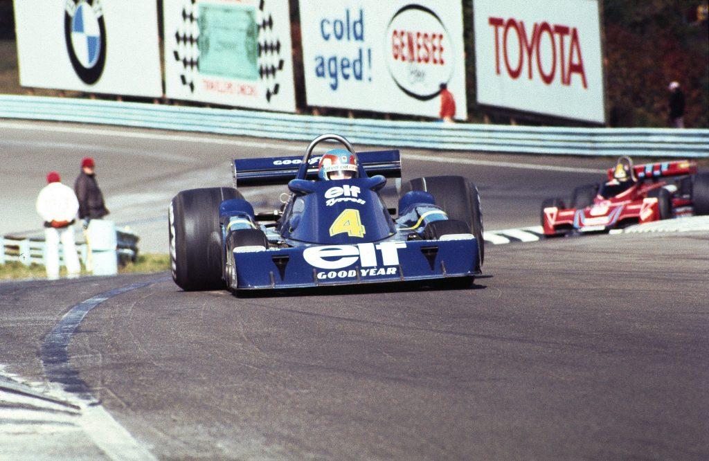 Tyrrell's six-wheel F1 car at Watkins Geln