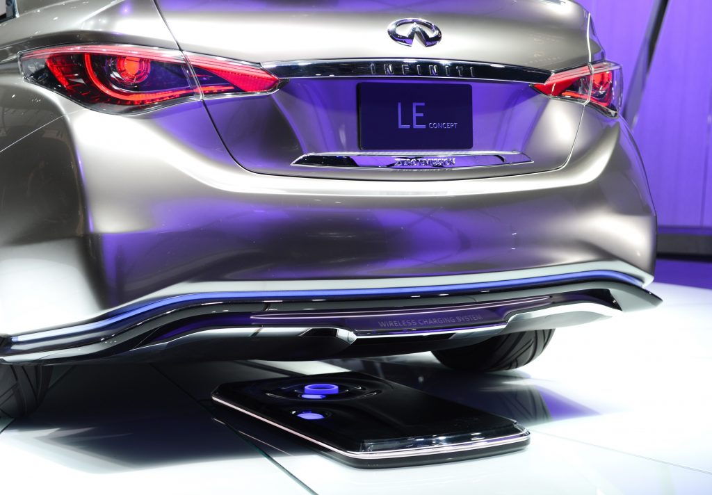 Infiniti's wireless charging EVs are more concept than reality for now