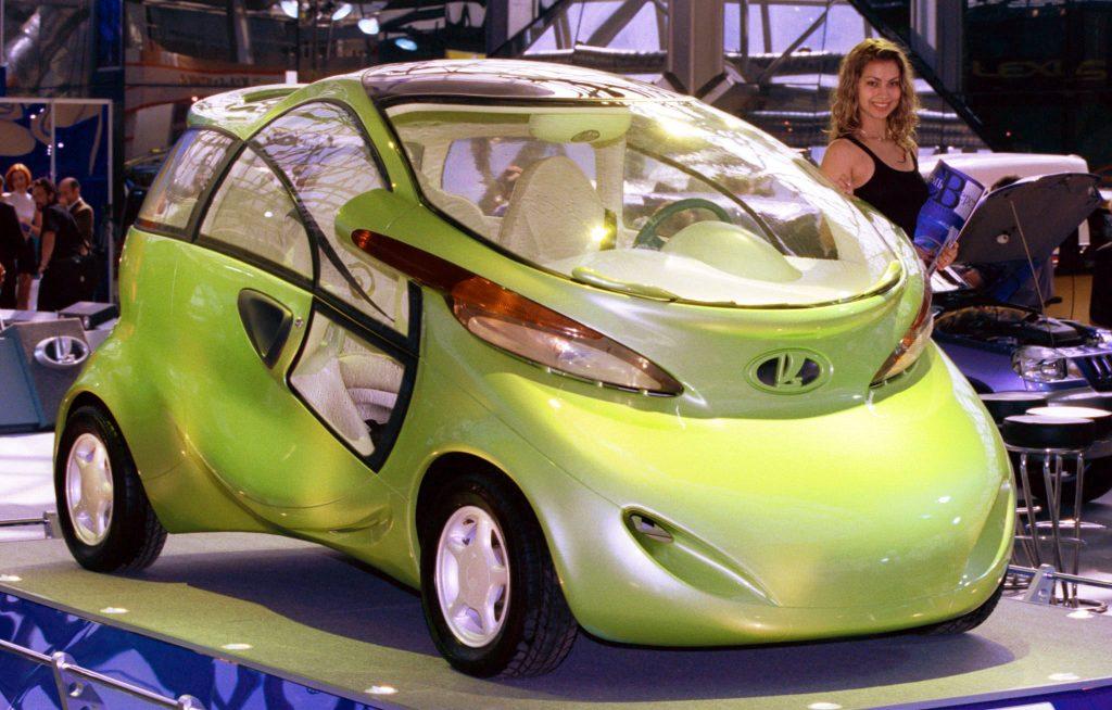 1998 Lada Rapan Electric Car