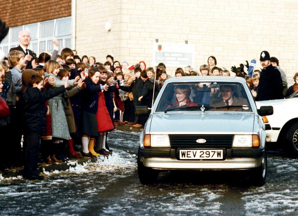 Princess Diana's 1981 Ford Escort