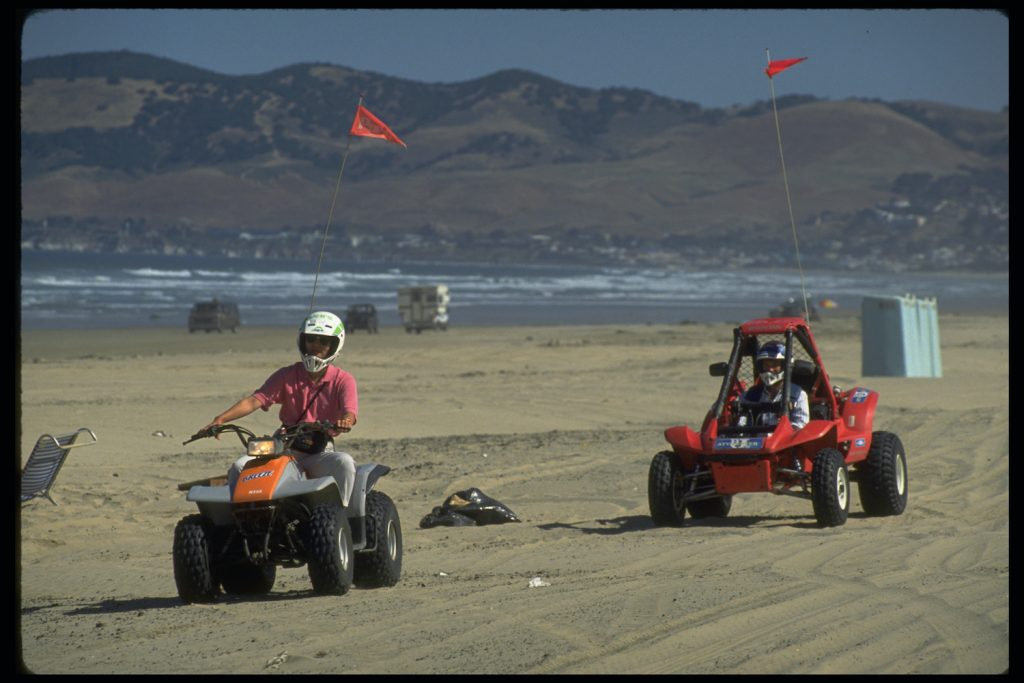 Pismo Beach, where we would take the Ford Bronco Riptide Concept Off-roader