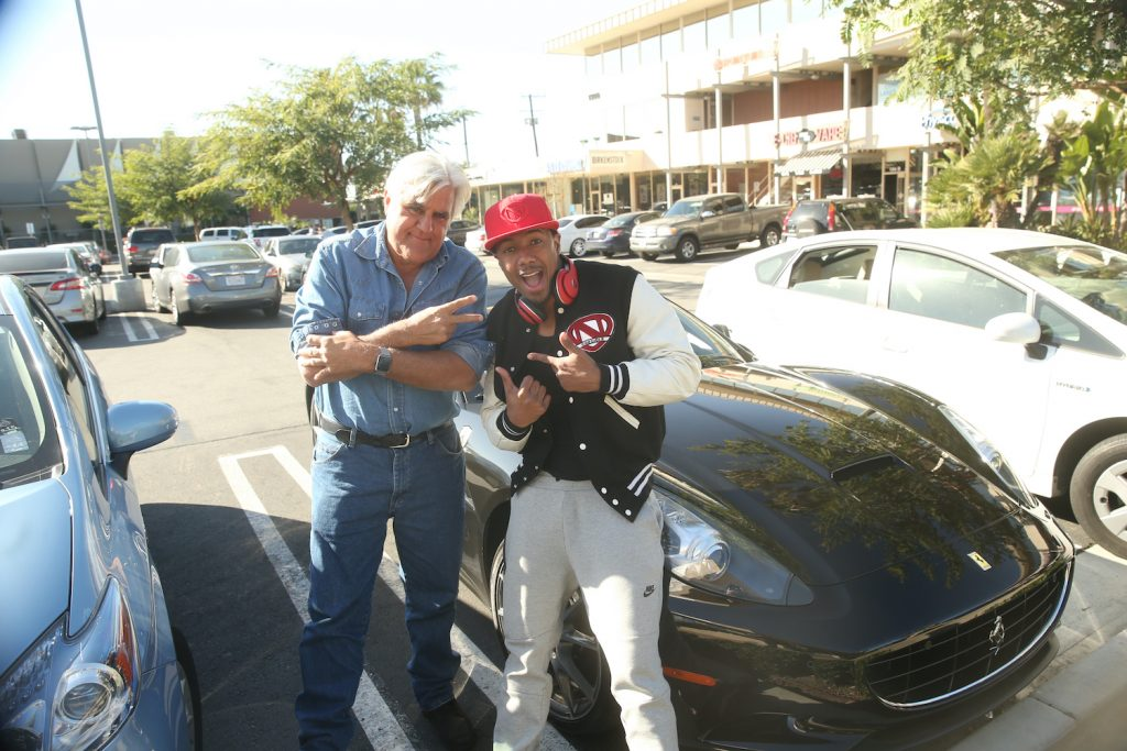 Jay Leno hosts with Nick Cannon and his Ferrari on his show, so why doesn't Jay Leno own a single Ferrari?