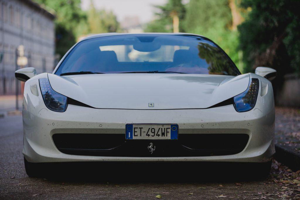 Ferrari 458 Crushed