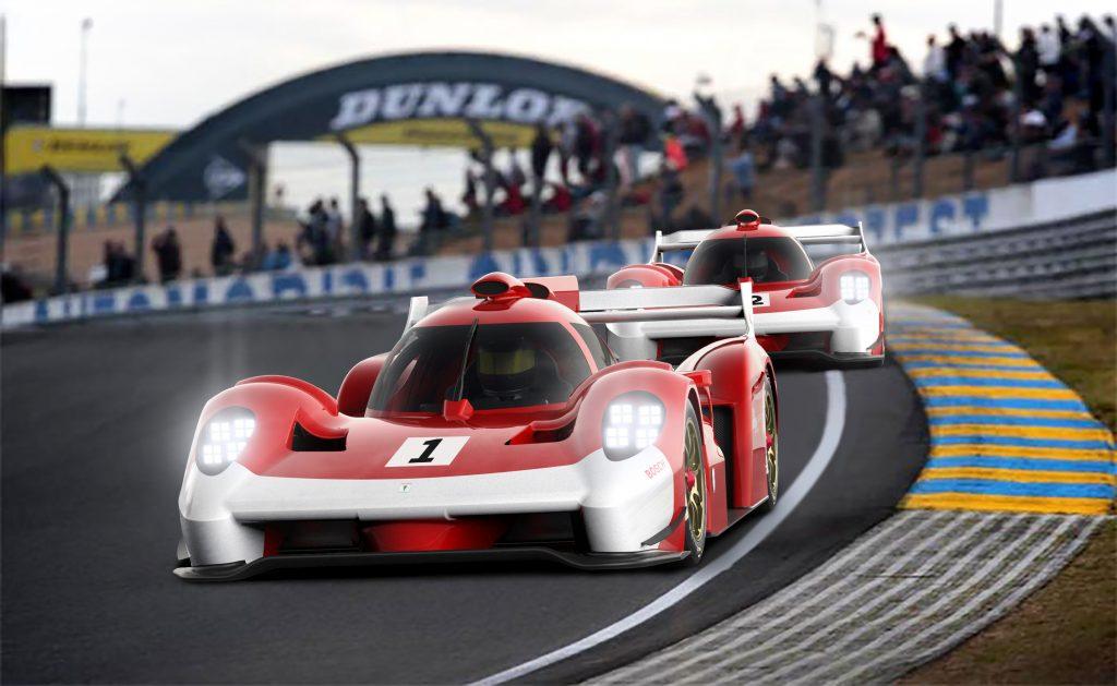 Glickenhaus SCG 007 Le Mans Hypercar