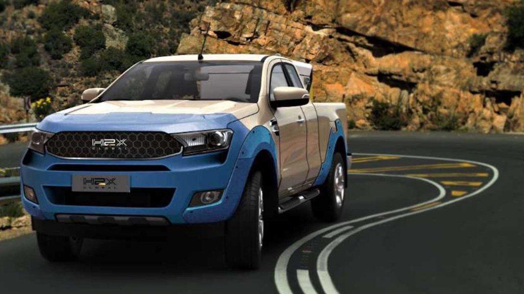 H2X Global hydrogen-powered Warrego made in Australia