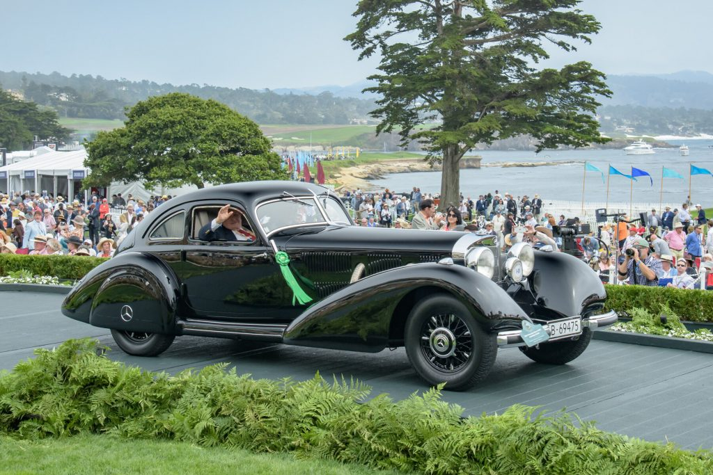 The Best-in-Show Mercedes-Benz 540K at Pebble Beach