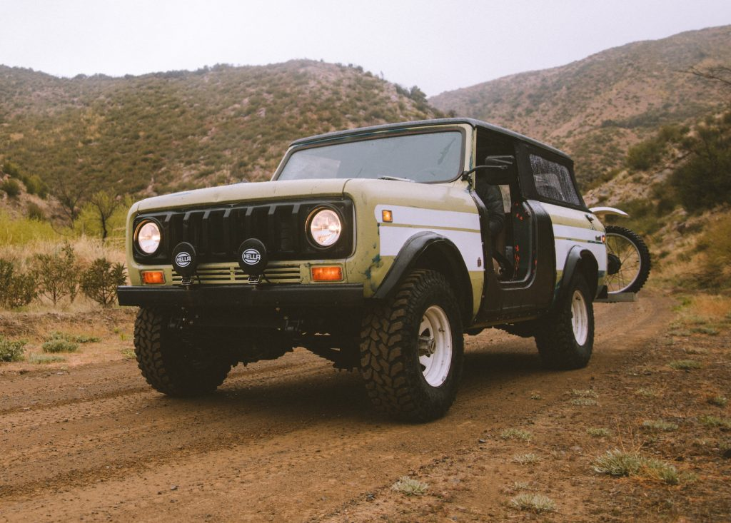 1976 International Super Scout II built by Iron and Resin and New Legends