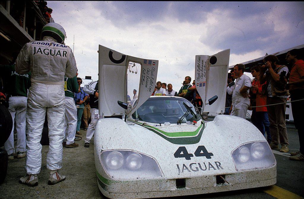 Robinson Tullius jaguar XJR-5 in the 24 Hours of Le Mans