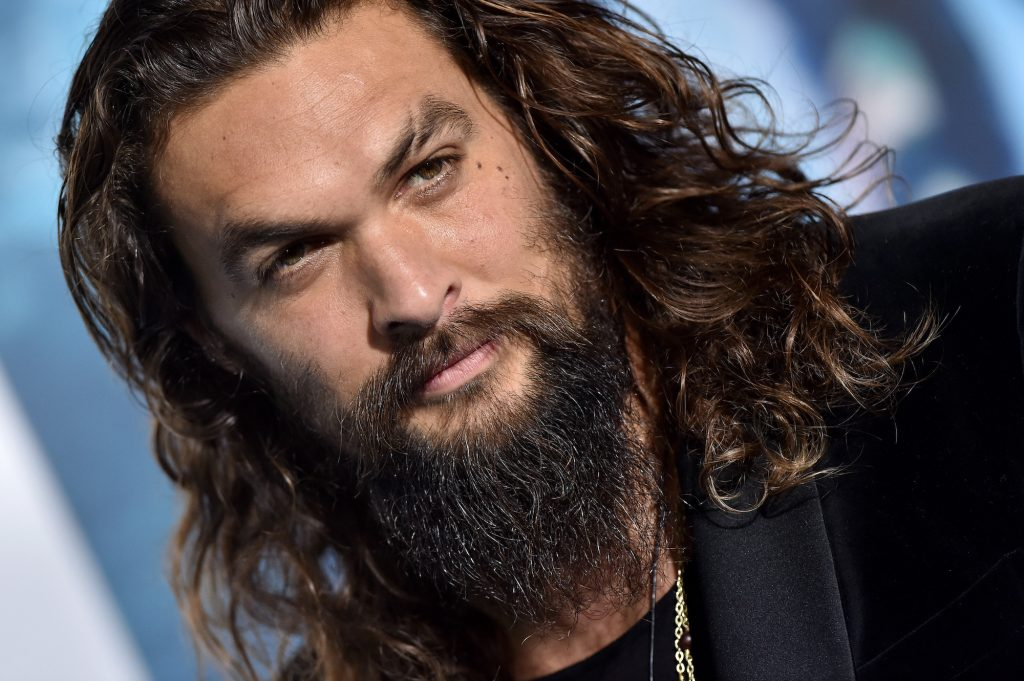 Jason Momoa rolled up to the Hollywood premiere of 'Aquaman' on December 12, 2018, in a Ford F-150 EarthRoamer RV