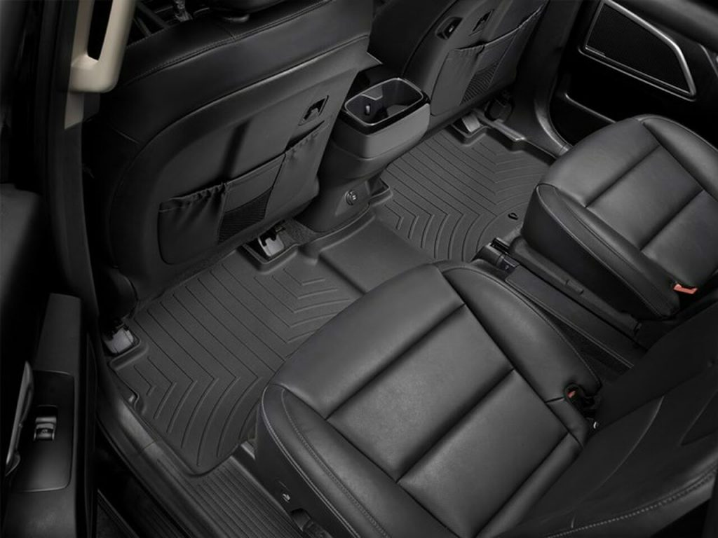 Kia Telluride with a WeatherTech FloorLiner installed in the second row