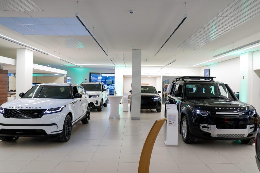 Land Rover Dealership Showroom