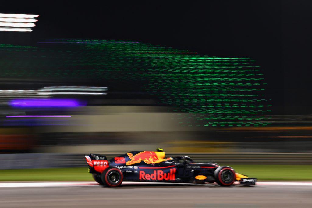 Max Verstappen's Red Bull Racing RB14 Formula 1 car