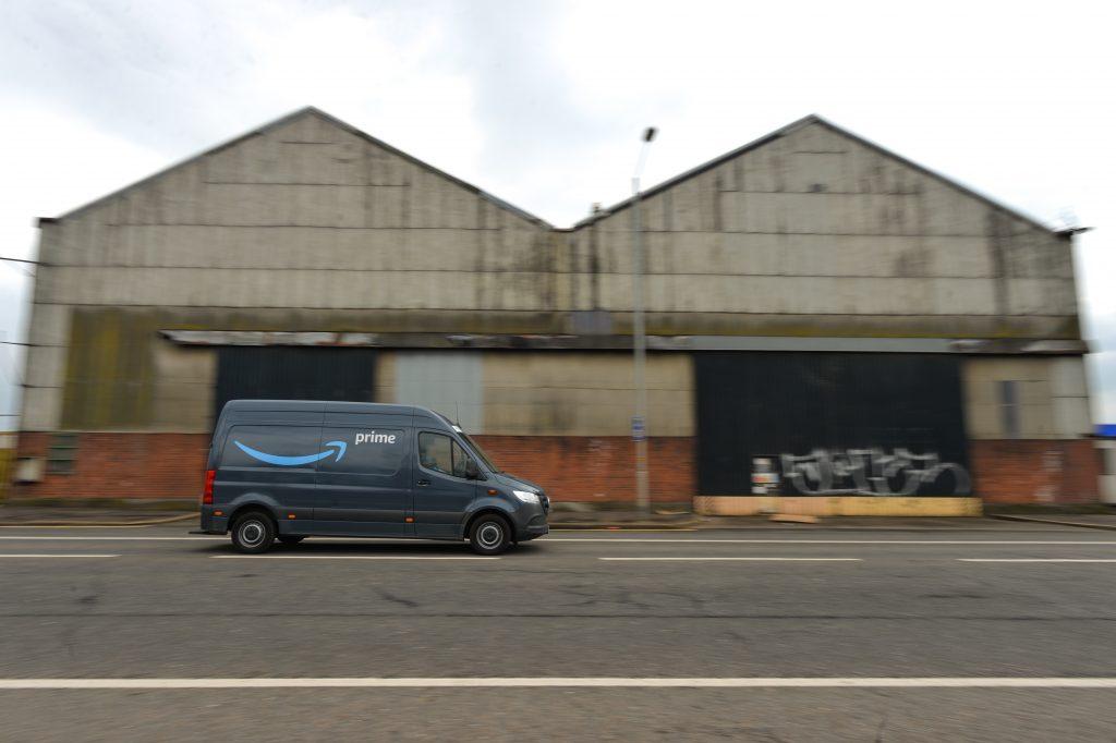 Amazon Mercedes Sprinter Van