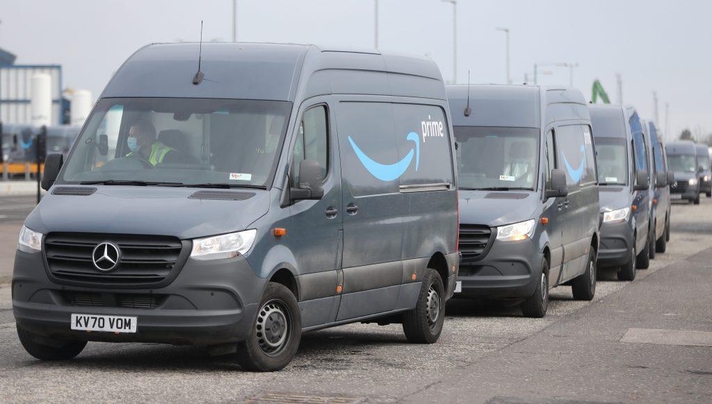 Amazon Mercedes Sprinter Vans