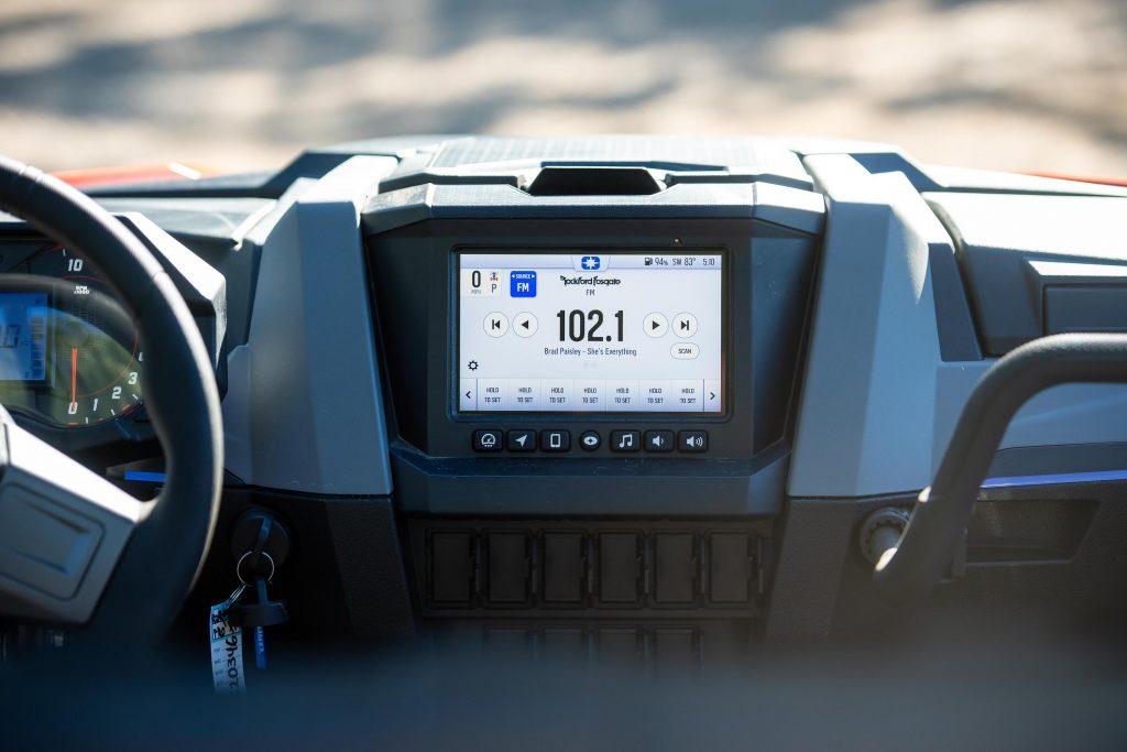 2022 Polaris RZR Pro XP interior