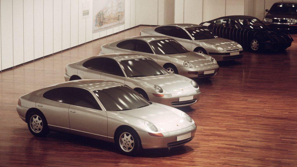 Porsche 989 In Showroom