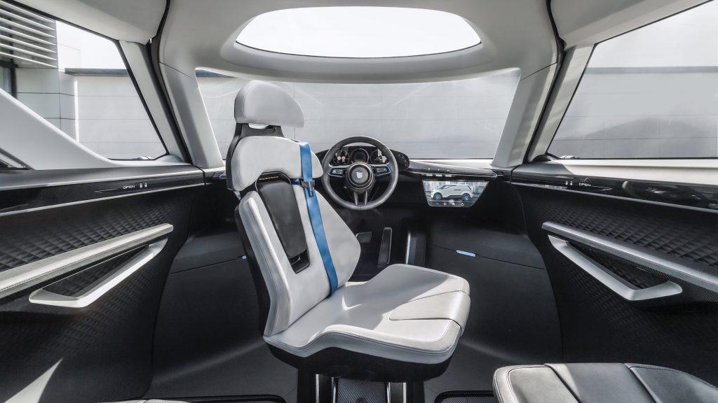 Porsche Renndienst Concept Interior