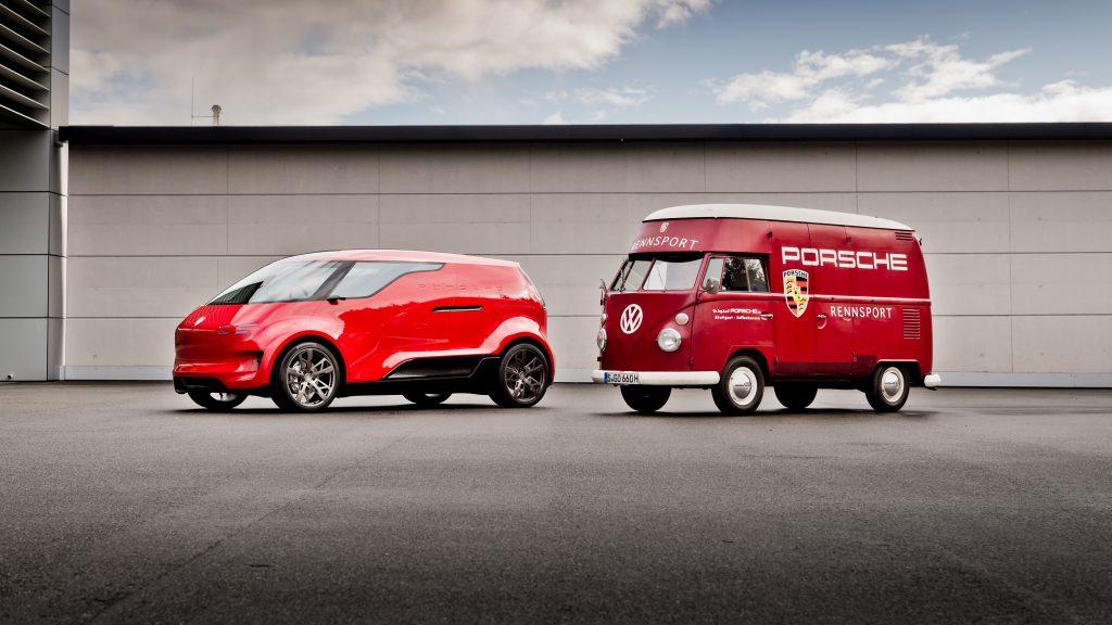 Porsche Renndienst Concept and Volkswagen Type 2 Bus