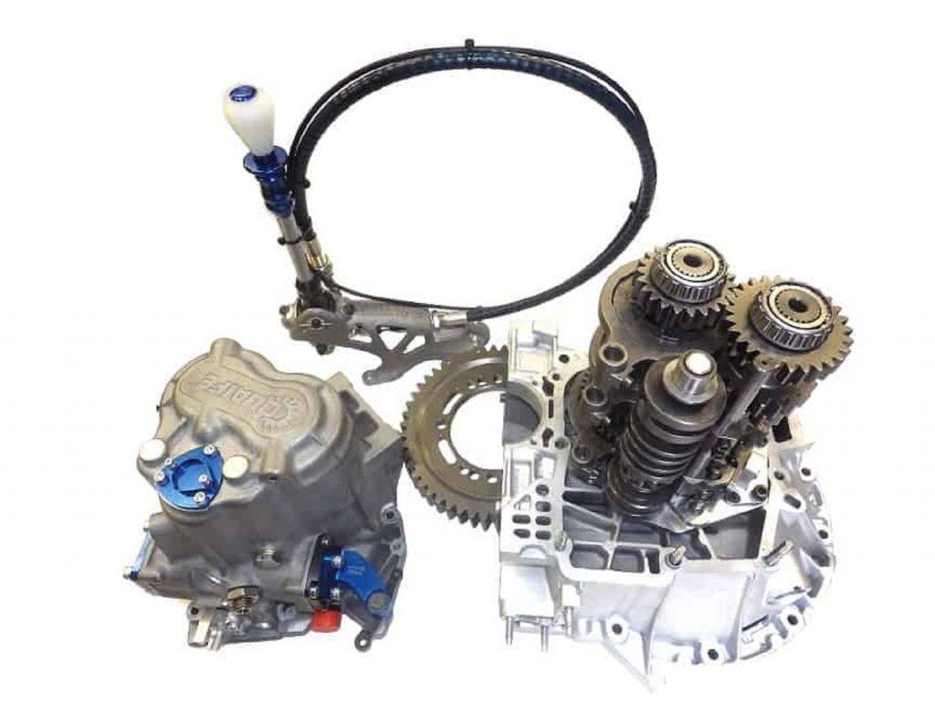 A Quaife QBE9D Alfa Romeo sequential transmission conversion kit