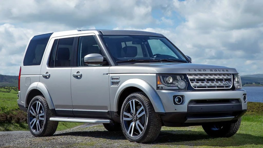 Land Rover Range Rover recall affecting models like this silver 2015 Range Rover parked in the grass.