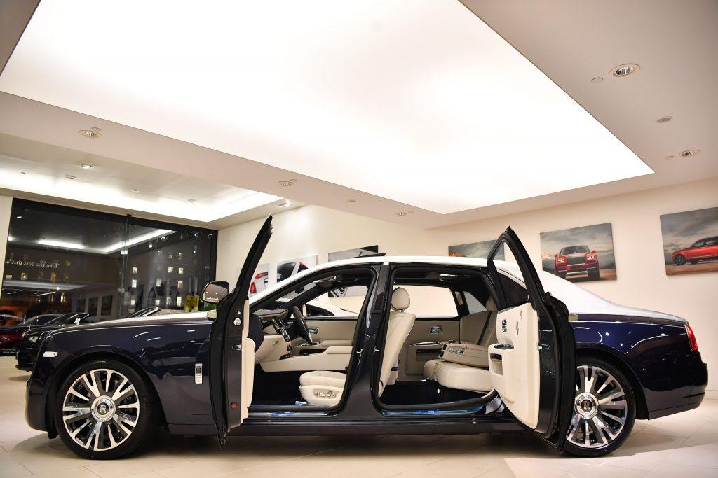 Rolls Royce Ghost At Dealership